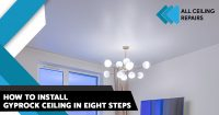 How to Install Gyprock Ceiling in Eight Steps
