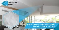 What You Need To Know About Sagging Ceilings in Perth